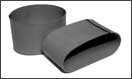 Manufacture of rubber sleeves